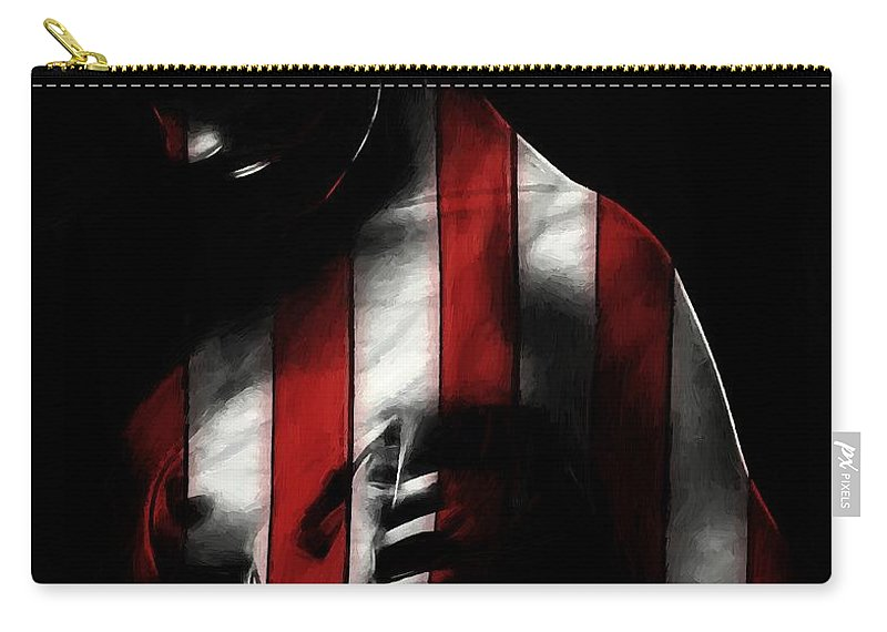 Carry-all Pouch featuring the painting A Love Called Liberty by Steve K