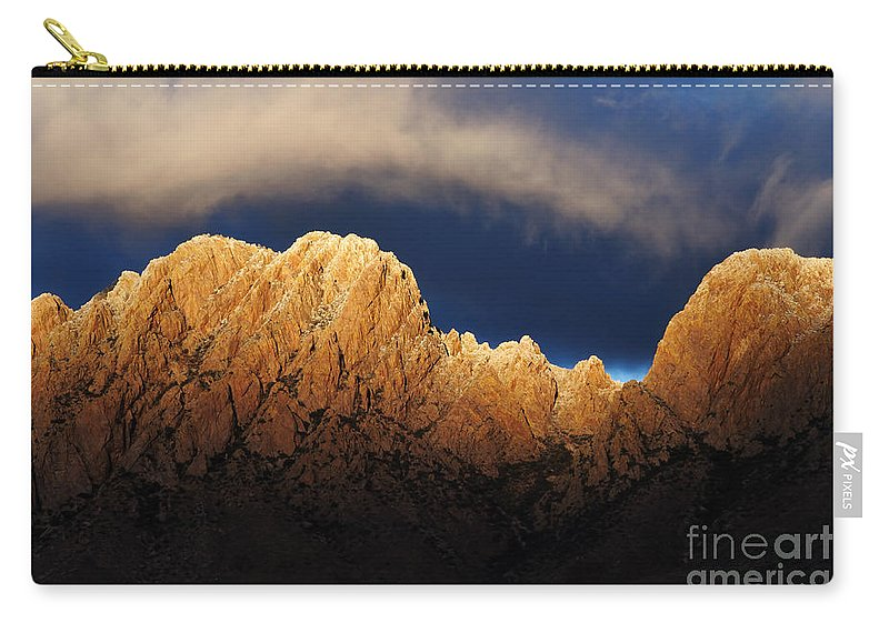 Las Cruces Carry-all Pouch featuring the photograph A Magic Moment by Vivian Christopher