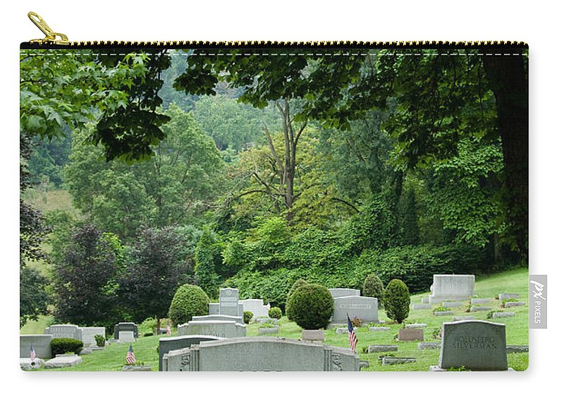 Afterlife Carry-all Pouch featuring the photograph A Matter Of Life And Death by Amy Cicconi