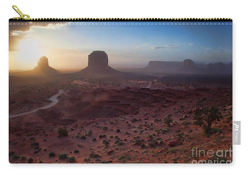 Utah Carry-all Pouch featuring the photograph A New Beginning by Jim Garrison