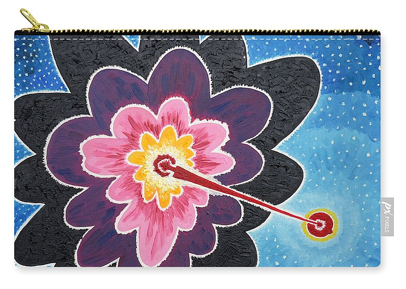 Star Carry-all Pouch featuring the painting A New Star Is Born. by Taikan Nishimoto