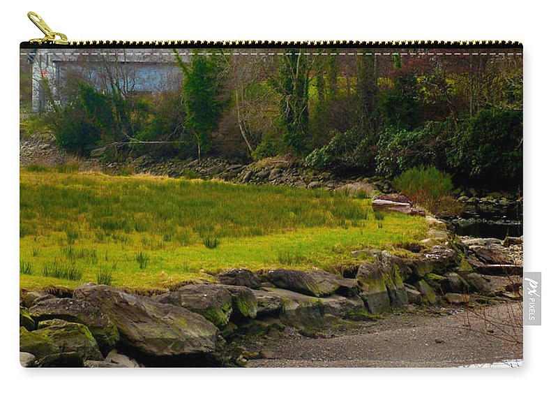 Ireland Carry-all Pouch featuring the photograph A Piece Of Ireland by Tiffany Erdman