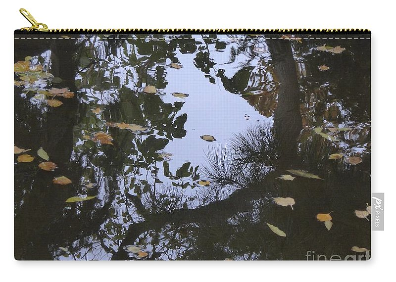 Carry-all Pouch featuring the photograph A Place To Dream Of by Nili Tochner