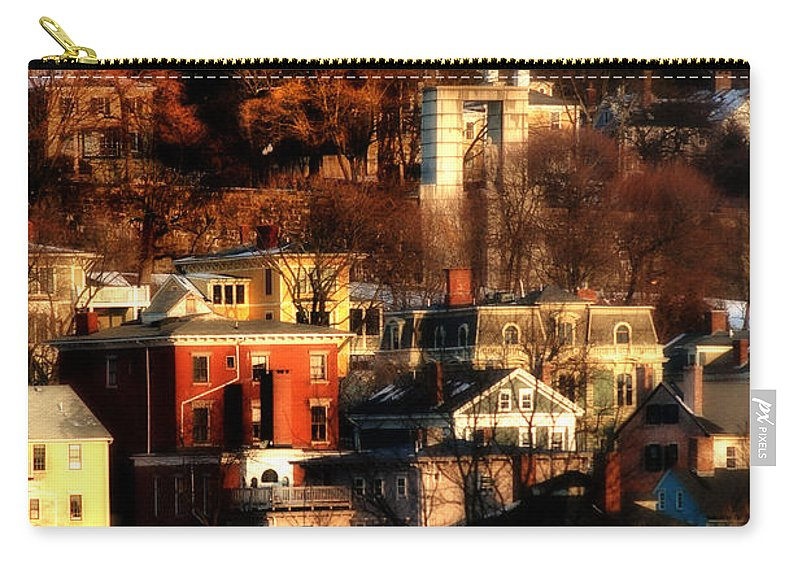 Providence Carry-all Pouch featuring the photograph A Providence Hillside by Mike Nellums
