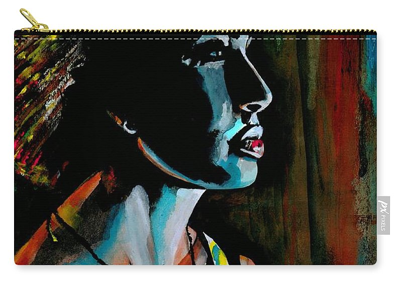 Sexy Carry-all Pouch featuring the photograph A Room Full Of People And All I See Is You by Artist RiA