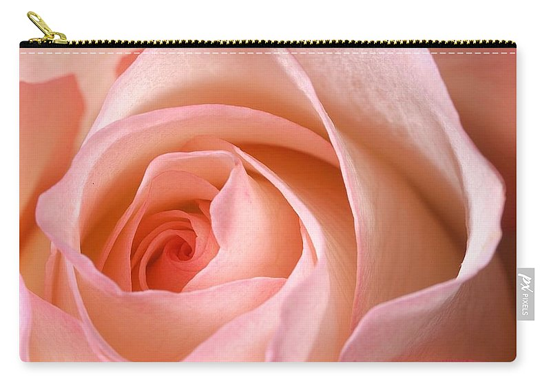 Rose Carry-all Pouch featuring the photograph A Rose Is A Rose by Joe Kozlowski