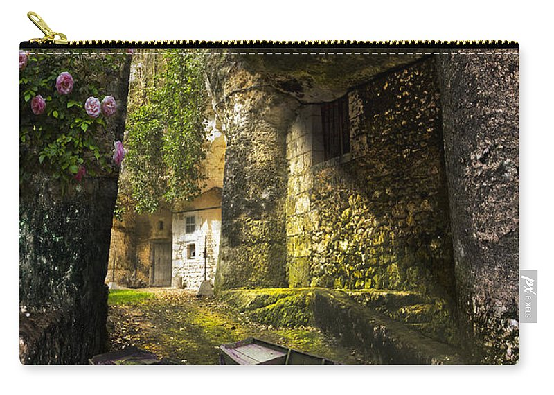 Barn Carry-all Pouch featuring the photograph A Secret Place by Debra and Dave Vanderlaan