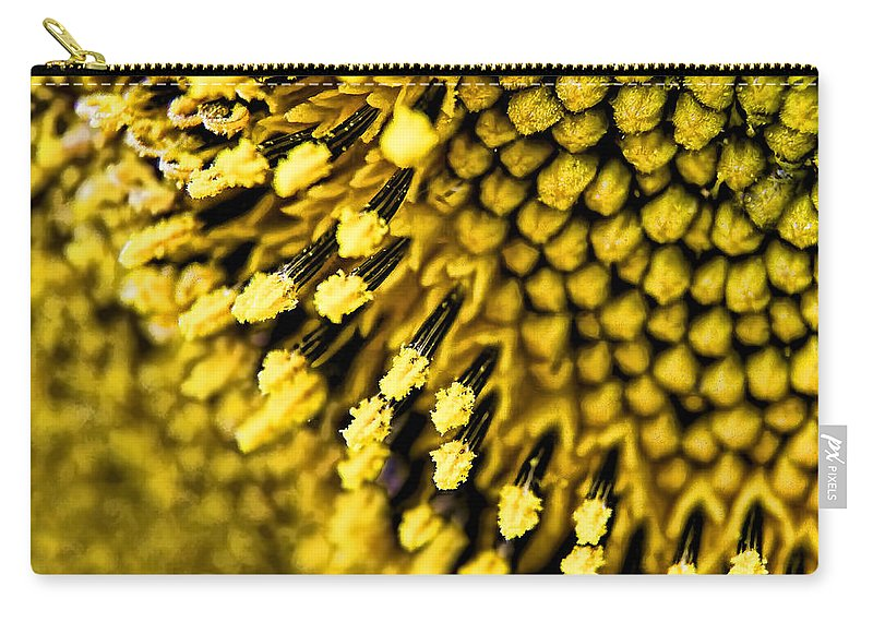 Seedy Business Carry-all Pouch featuring the photograph A Seedy Business by Gary Holmes