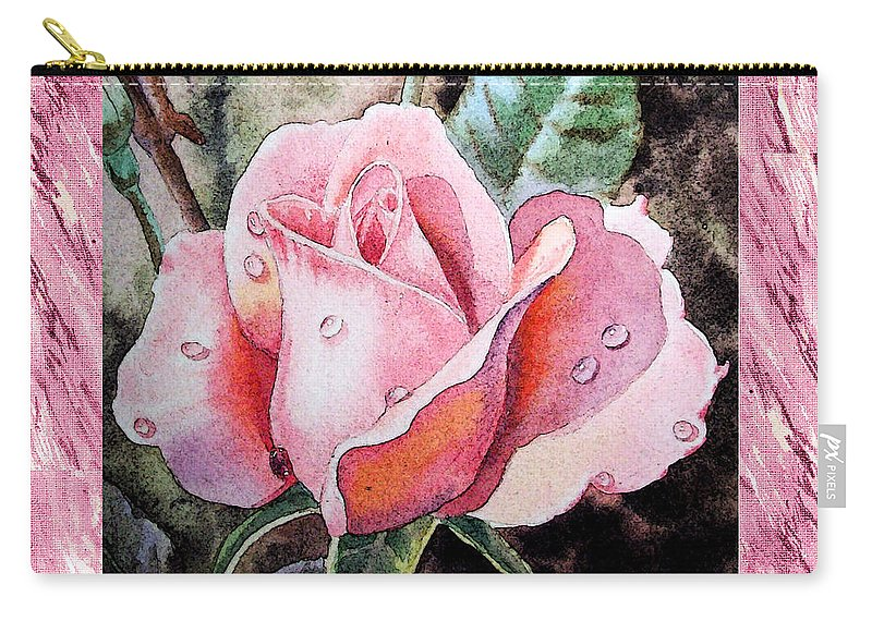 Roses For Sale Near Me >> A Single Rose Make Me Pink Carry All Pouch