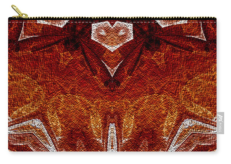 Owlspook Carry-all Pouch featuring the digital art A Stiring Of Secrets by Owlspook
