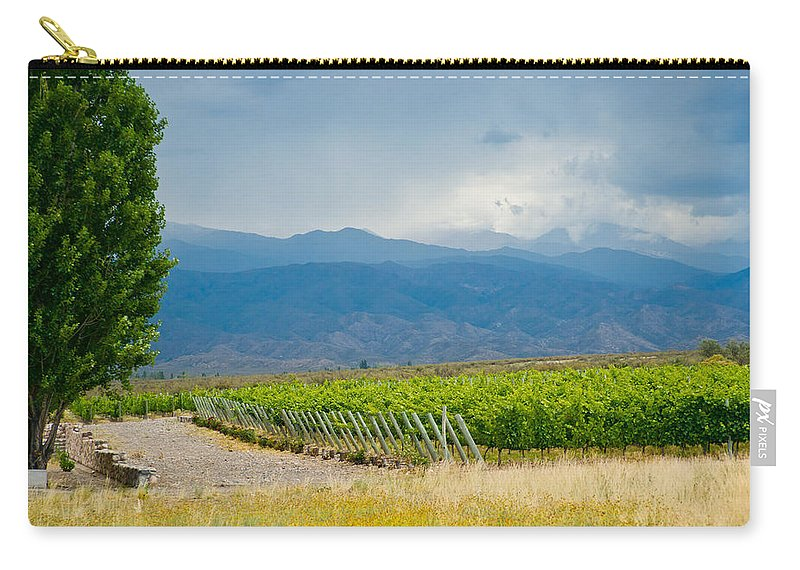 Vines Carry-all Pouch featuring the photograph Storm On The Horizon by Kent Nancollas
