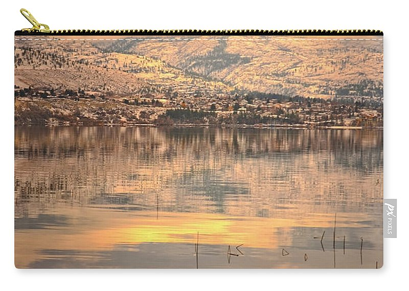 Wimter Carry-all Pouch featuring the photograph A Subtle Winter by Tara Turner