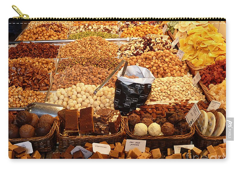 Nuts Carry-all Pouch featuring the photograph A Sweet Stop by Kris Hiemstra