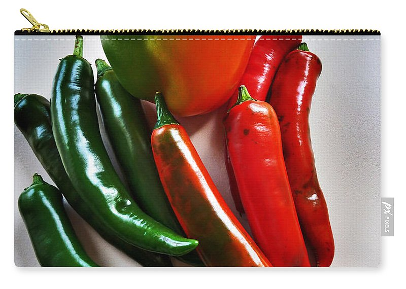 Sweet Carry-all Pouch featuring the photograph A Touch Of Colour by Steve Taylor
