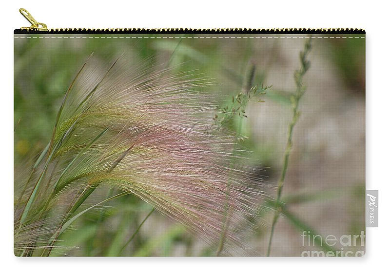 Nature Carry-all Pouch featuring the photograph A Touch Of Pink by Bianca Nadeau