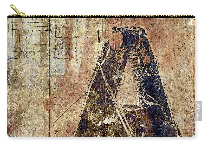 Letter Carry-all Pouch featuring the photograph A Train by Carol Leigh