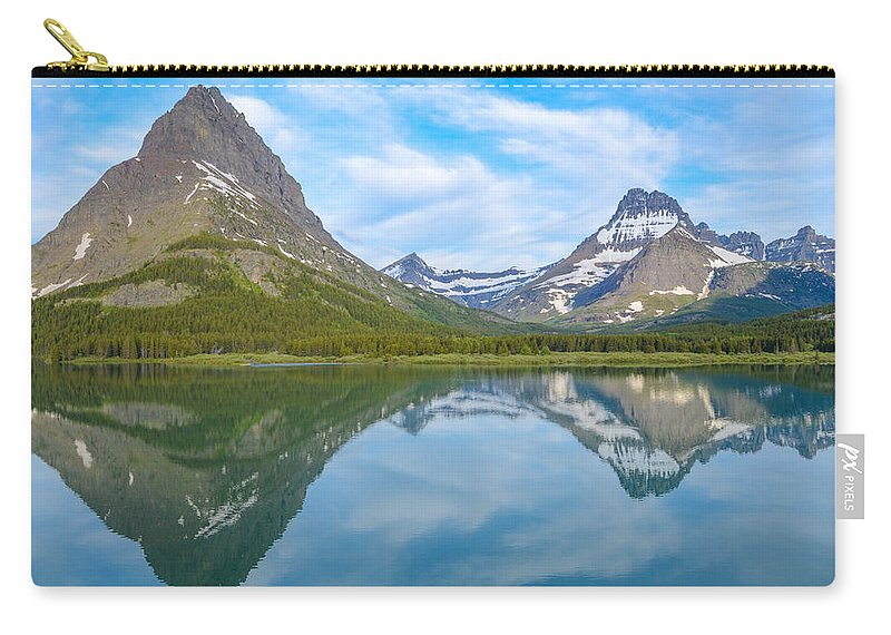 Glacier National Park Carry-all Pouch featuring the photograph A View From The Balcony by Gales Of November