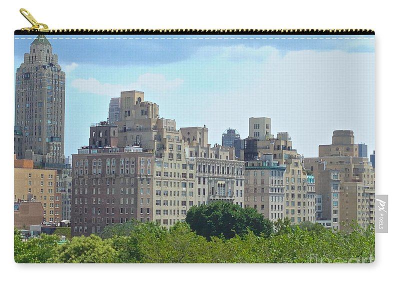 Met Carry-all Pouch featuring the photograph A View From The Met by Christy Gendalia