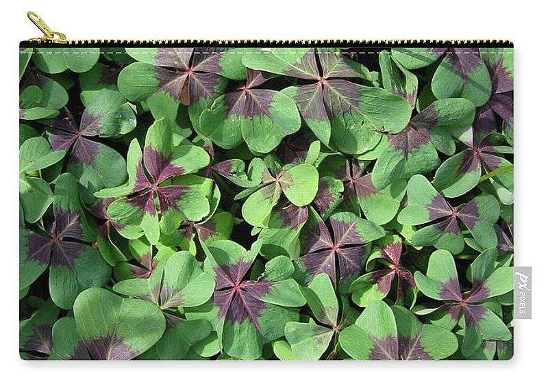Mccombie Carry-all Pouch featuring the photograph A Whole Lot Of Good Luck by J McCombie