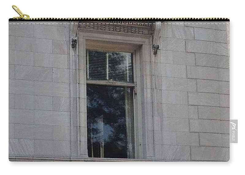 Manhattan Carry-all Pouch featuring the photograph A Window In Manhattan by Christy Gendalia