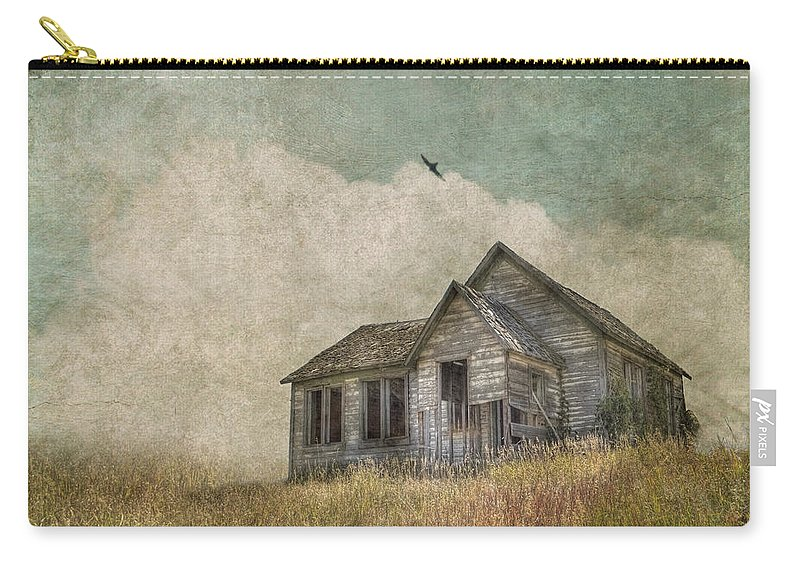 Landscape Carry-all Pouch featuring the photograph Abandoned by Juli Scalzi