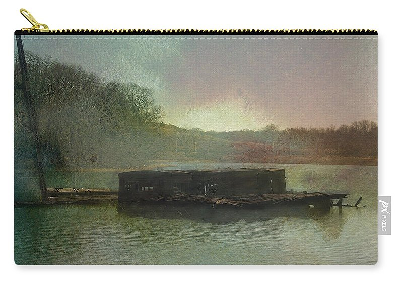 Wright Carry-all Pouch featuring the photograph Abandoned by Paulette B Wright
