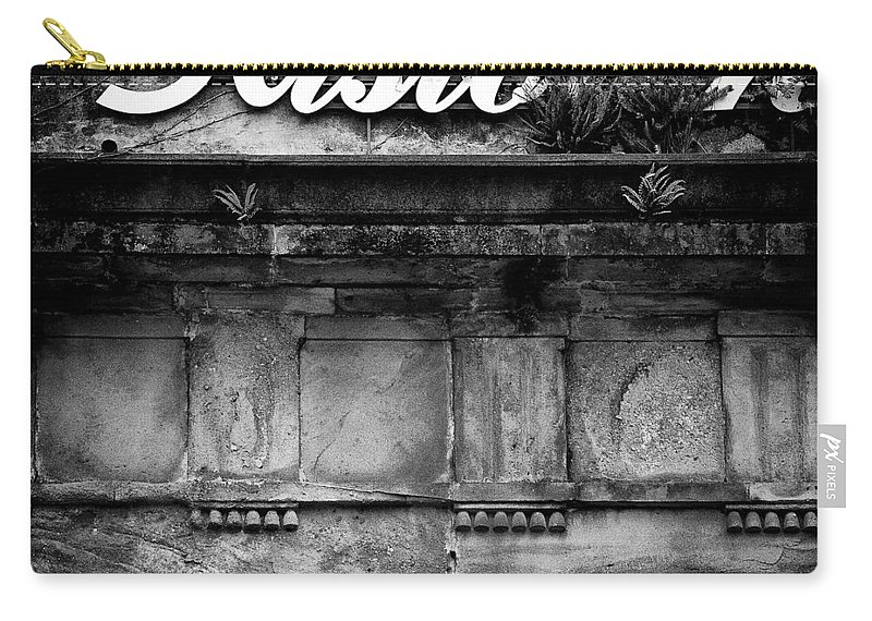 Abandoned Restaurant Carry-all Pouch featuring the photograph Abandoned Restaurant by Dave Bowman