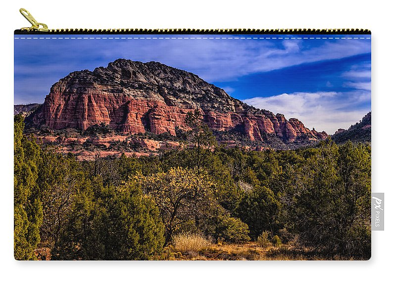 2014 Carry-all Pouch featuring the photograph Above It All by Mark Myhaver