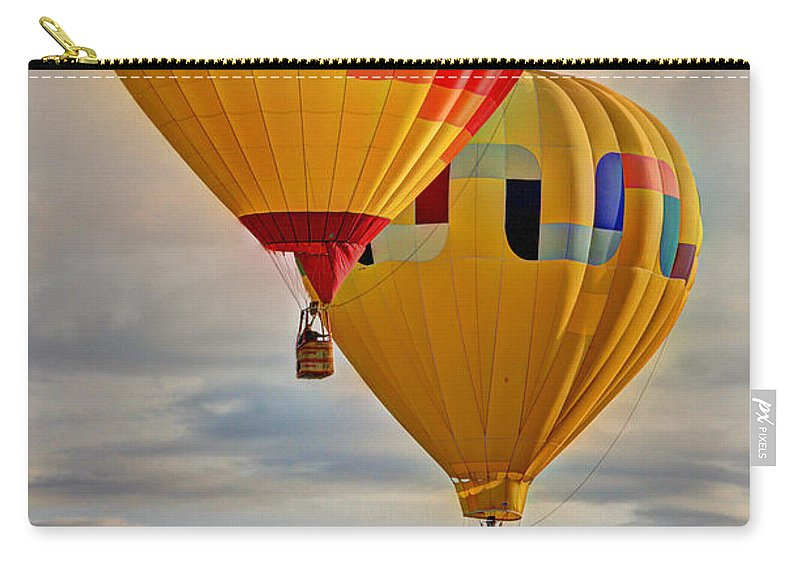 Balloon Carry-all Pouch featuring the photograph Above by Scott Mahon