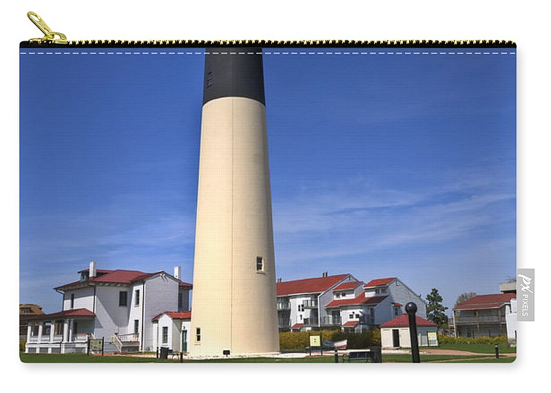 Lighthouse Carry-all Pouch featuring the photograph Absecon Lighthouse by Anthony Sacco