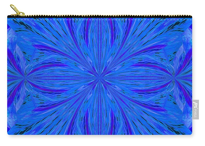 Abstract 206 Carry-all Pouch featuring the digital art Abstract 206 by Maria Urso