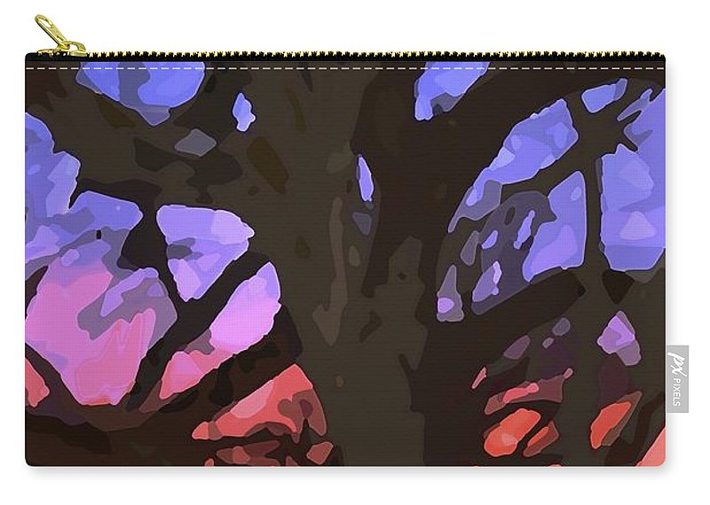 Abstract Carry-all Pouch featuring the photograph Abstract 284 by Pamela Cooper