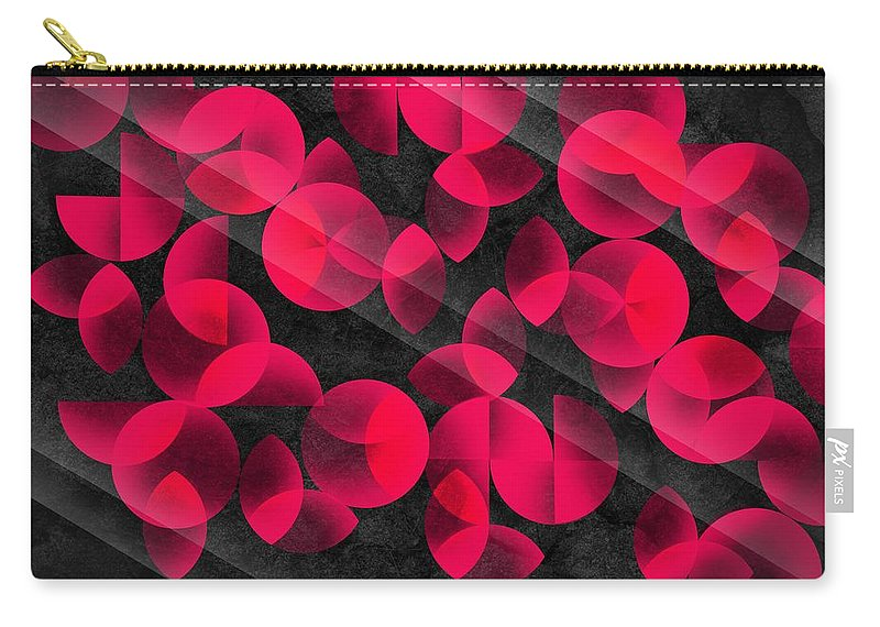 Contemporary Carry-all Pouch featuring the digital art Abstract 4 by Mark Ashkenazi