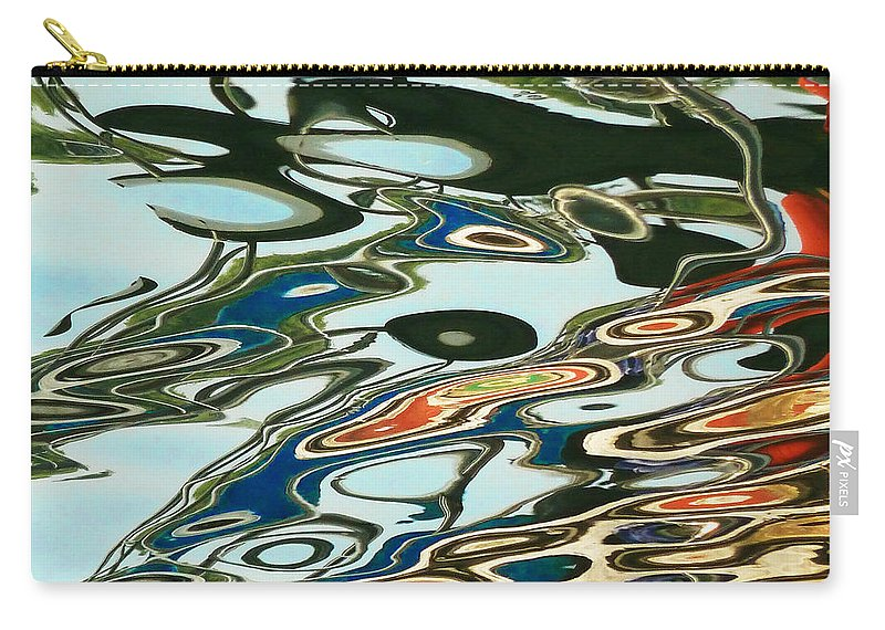 Abstract Art Carry-all Pouch featuring the photograph Abstract 4 by Xueling Zou