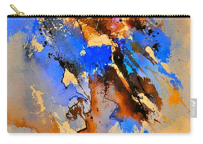 Abstract Carry-all Pouch featuring the painting Abstract 4110212 by Pol Ledent