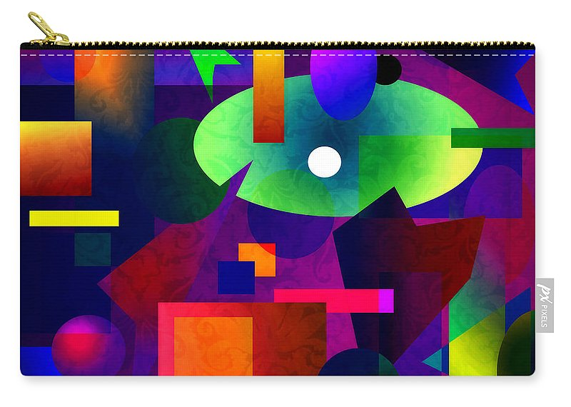 Abstract Carry-all Pouch featuring the photograph Abstract 74 by Timothy Bulone