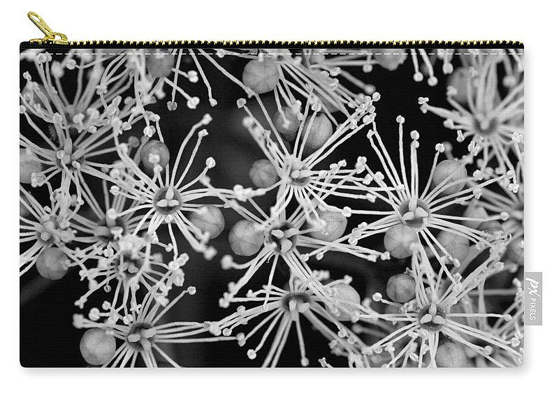 Blossom Carry-all Pouch featuring the photograph Abstract Blossoms by Chevy Fleet