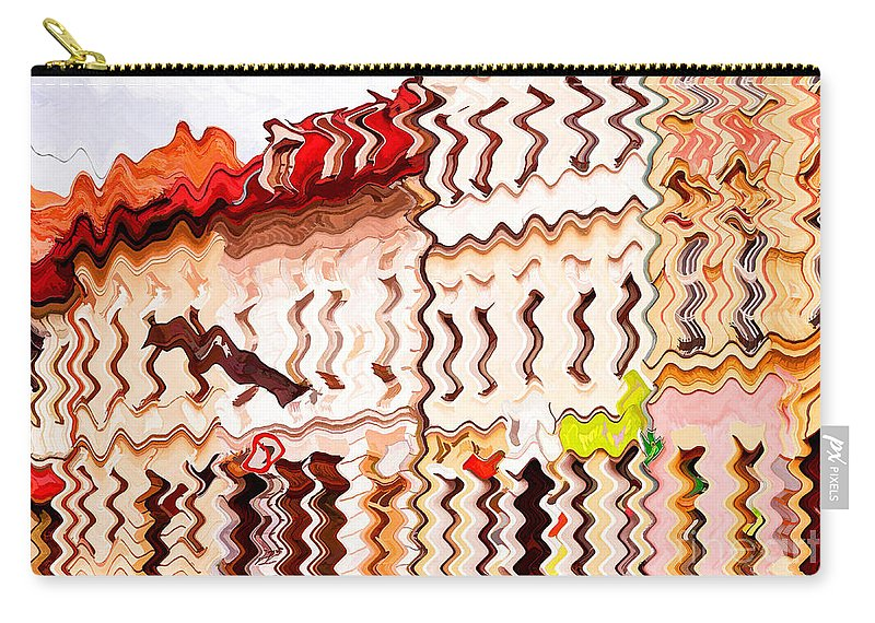 Abstract Carry-all Pouch featuring the photograph Abstract Buildings by Les Palenik