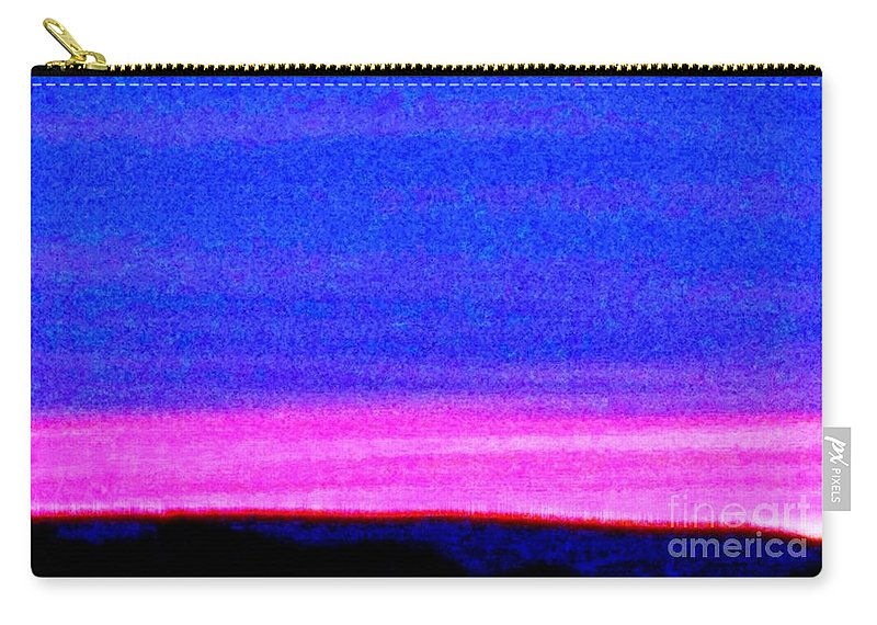 Abstract Carry-all Pouch featuring the photograph Abstract Landscape by Eric Schiabor