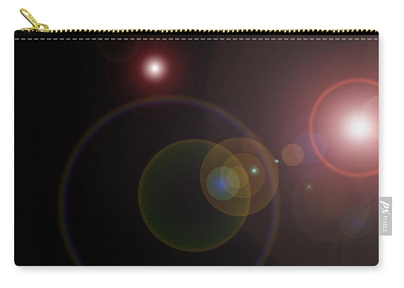 Flare Carry-all Pouch featuring the photograph Abstract Lights by Charles Beeler