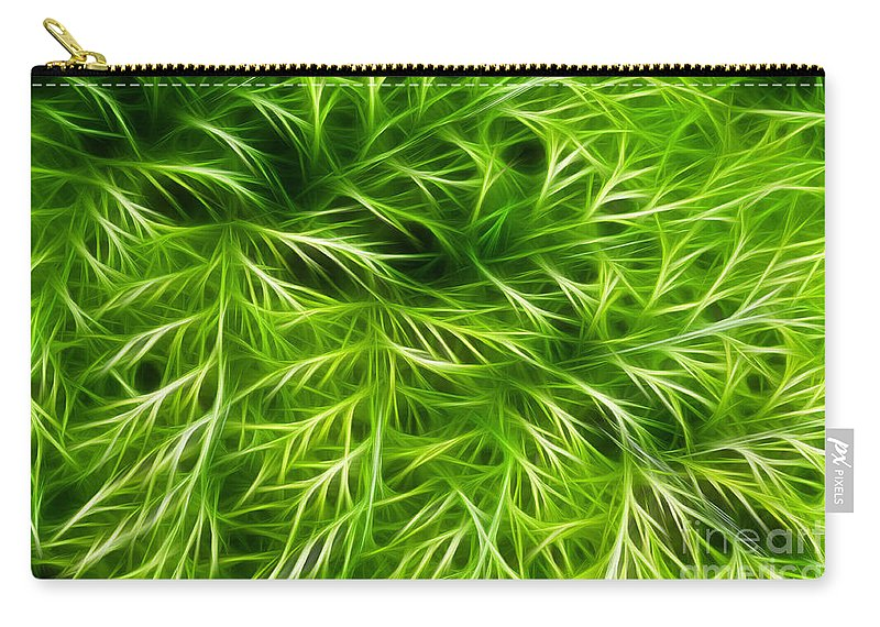 Abstract Carry-all Pouch featuring the photograph Abstract Of Nature 3 by Vivian Christopher