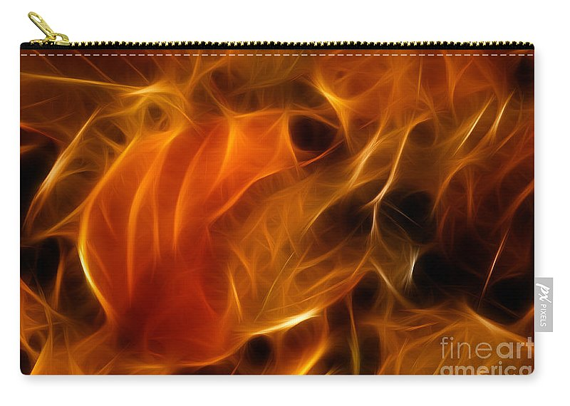 Abstract Carry-all Pouch featuring the photograph Abstract Of Nature 4 by Vivian Christopher