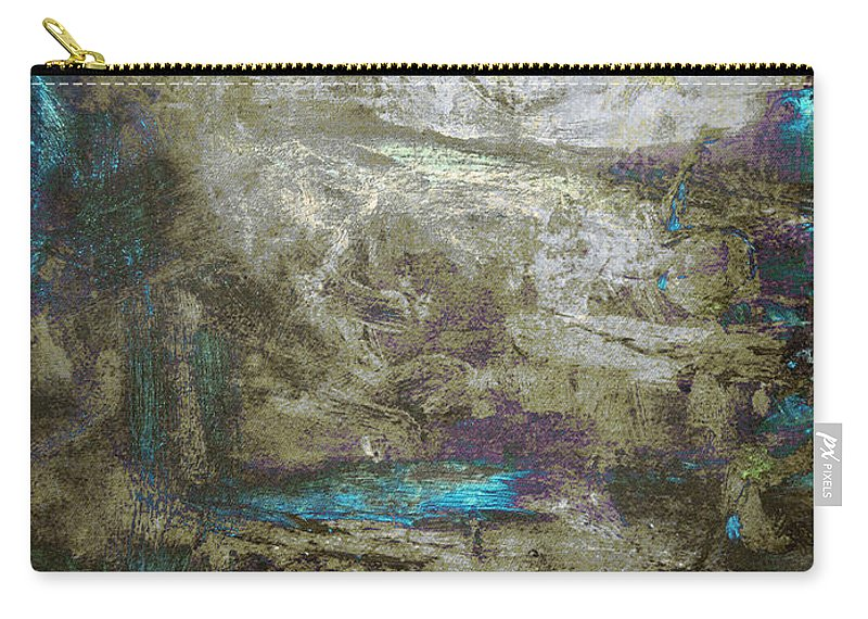 Abstract Carry-all Pouch featuring the painting Abstract Print 13 by Filippo B