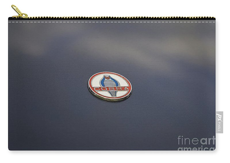 Car Carry-all Pouch featuring the photograph Ac Cobra by Clare Bambers