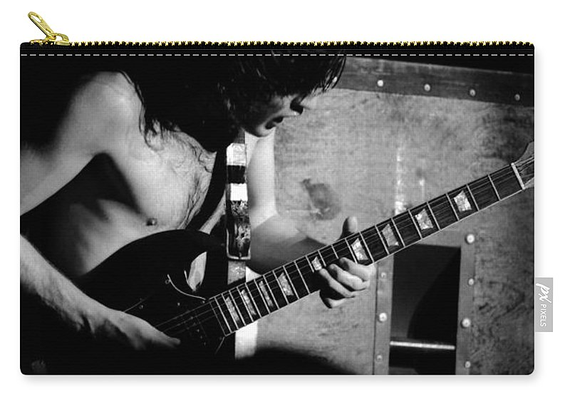 Ac Dc Carry-all Pouch featuring the photograph Ac Dc #40 by Ben Upham