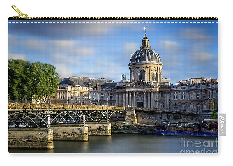 Academie Francaise Carry-all Pouch featuring the photograph Acadamie Francaise by Brian Jannsen