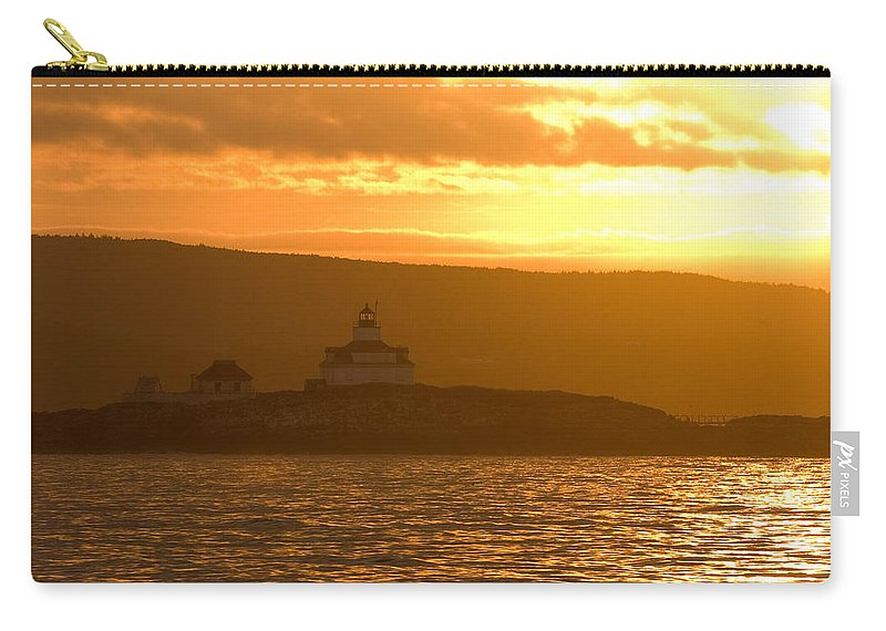 Acadia National Park Carry-all Pouch featuring the photograph Acadia Lighthouse by Sebastian Musial