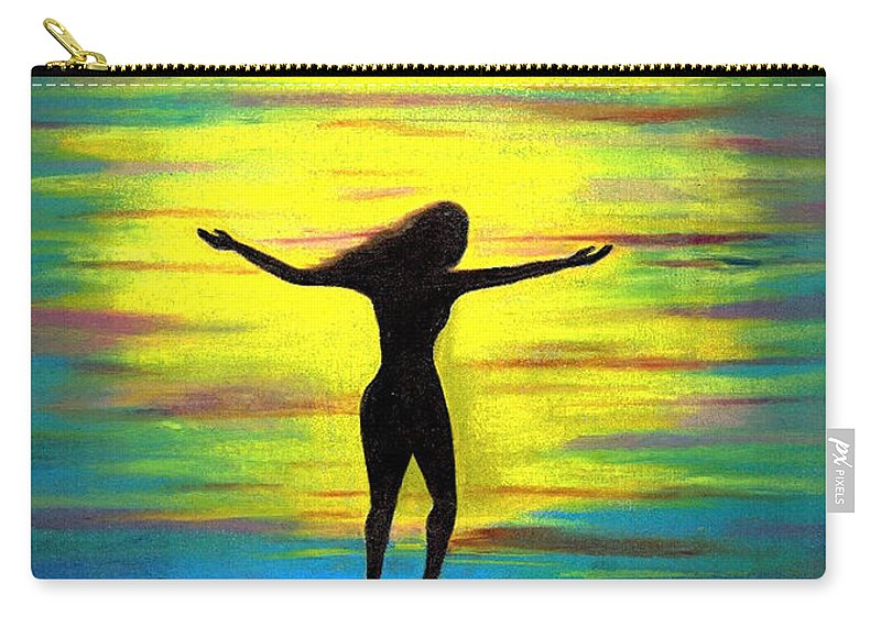 Beautiful Carry-all Pouch featuring the photograph Accomplished by Artist RiA