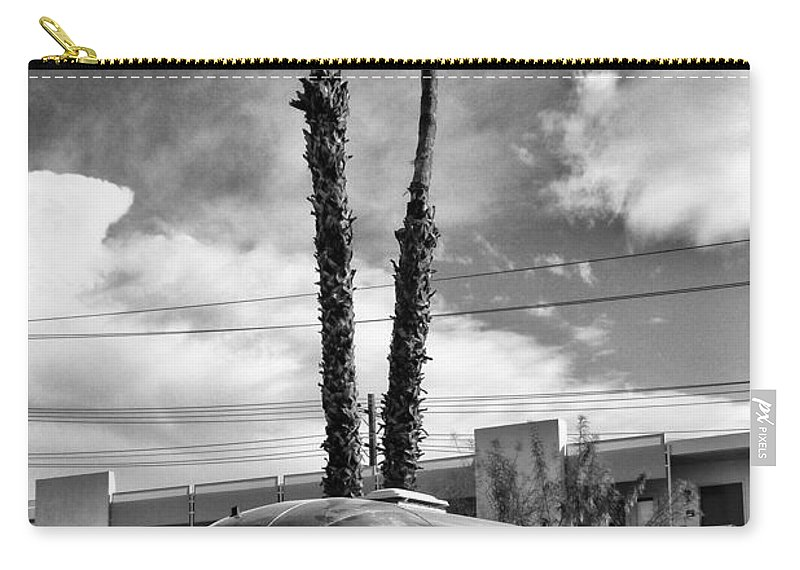 Airstream Carry-all Pouch featuring the photograph Ace Trailer Palm Springs by William Dey