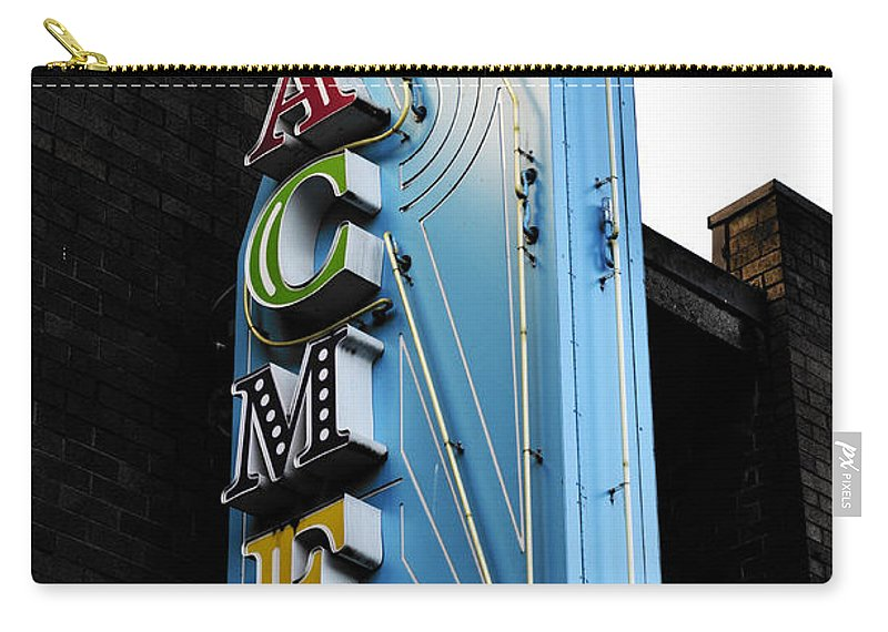 Vancouver Carry-all Pouch featuring the photograph Acme by The Artist Project